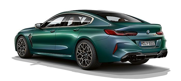 BMW M8 Competition Gran Coupé First Edition Heckansicht