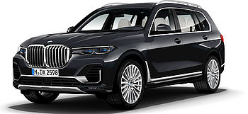 BMW X7 Modell Design Pure Excellence