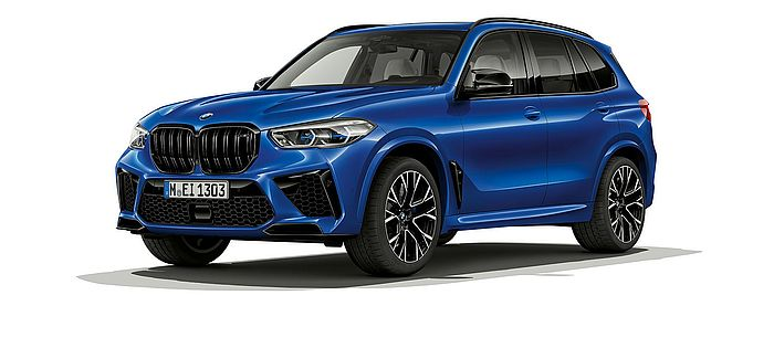 BMW X5 M Competition frontale Ansicht