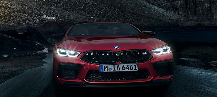 BMW M8 Competition Cabriolet Frontansicht