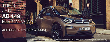 Aktionsangebot BMW i3