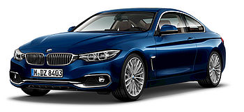 BMW 4er Coupé Modell Luxury Line