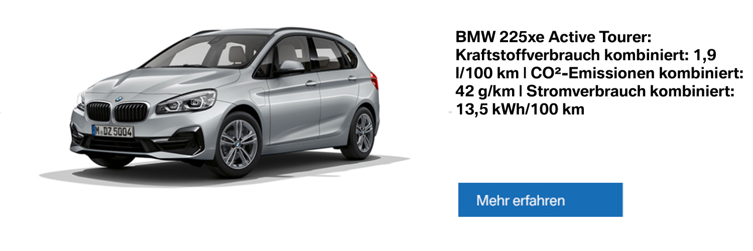 BMW 225xe Plug-in-Hybrid - Alle Informationen