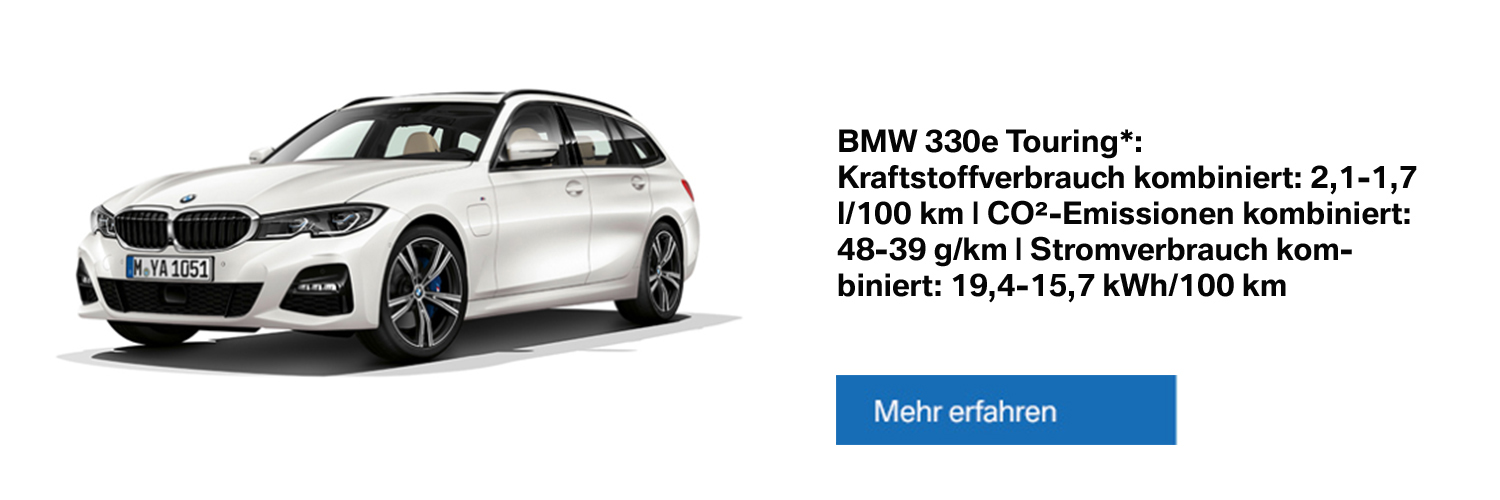 BMW 330e Touring Plug-in-Hybrid - Alle Informationen