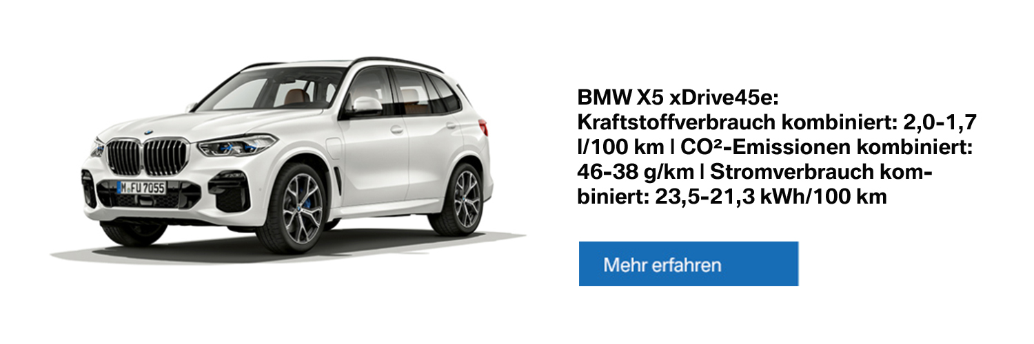 BMW X5 xDrive45e Plug-in-Hybrid - Alle Informationen