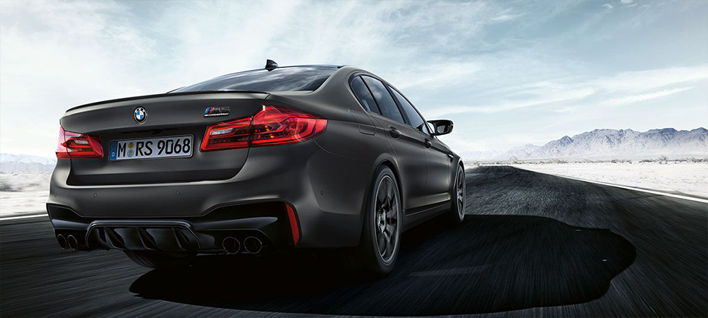 BMW M5 Competition Heck