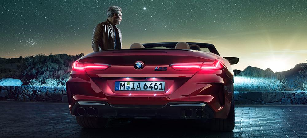 BMW M8 Competition Cabriolet - Heck