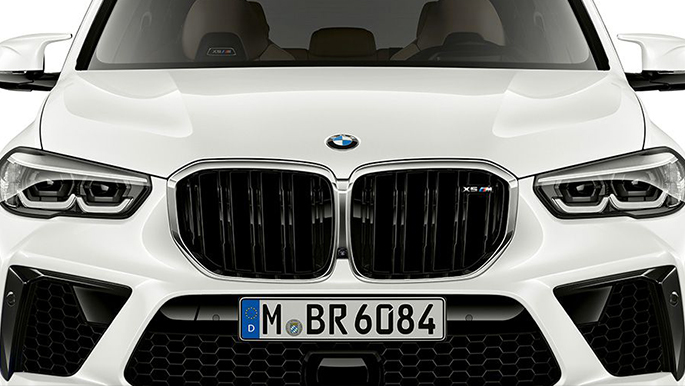 BMW X5 M Competition Niere
