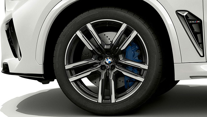 BMW X5 M Competition Rad