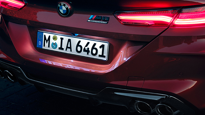 BMW M8 Competition Cabriolet Heck