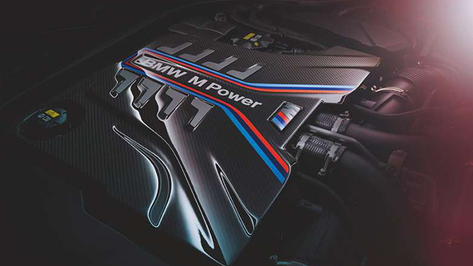 BMW M8 Competition Cabriolet Motor